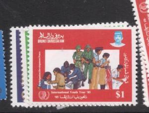Brunei SG 362-4 MNH (5dfh)