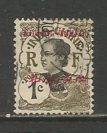 France (Kwangchowan)  #18  Used  (1908)  c.v. $1.70