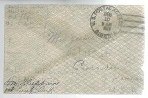 1918 US Army Soldier Cover AEF Siberia Russia Allied Expeditionary Force