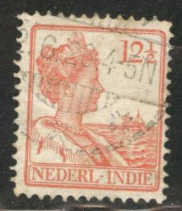 Netherlands Indies  Scott 119 used  from 1912-20 set