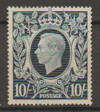 GB George VI  SG 478 very lightly mounted mint mark on gum hard to see