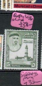 QATAR (P2708B)   SHIKH 5R  SG 36   MNH