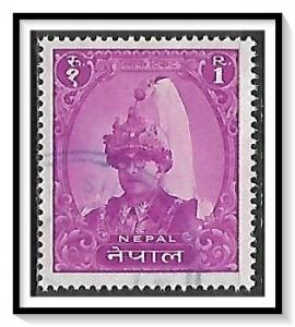 Nepal #124 King Mahendra Used