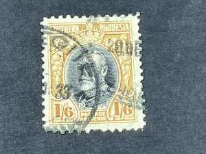 SOUTHERN RHODESIA # 27-USED---SINGLE---1931-37