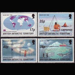 BR.ANTARCTIC TERR. 1996 - Scott# 235-8 Science Set of 4 NH