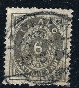 Iceland Attractive Sc#10 Used VF SCV $40...Such a bargain!!