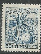 Tunisia    Scott # J30 - MH