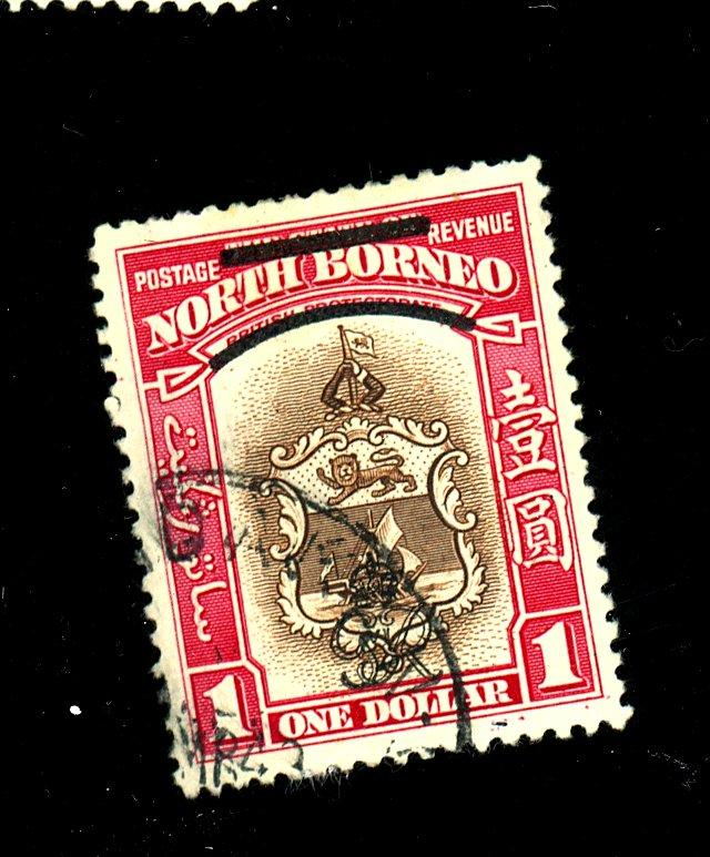 North Borneo #205 Used F-VF Cat $23