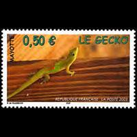 MAYOTTE 2003 - Scott# 188 Gecko Set of 1 NH