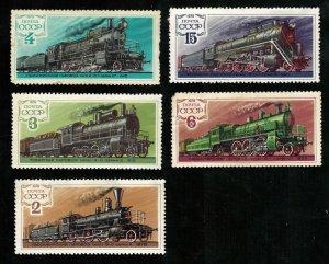 Train, Steam locomotives, (3748-T)