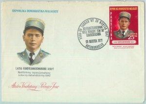 81133 -  MADAGASCAR  - POSTAL HISTORY - FDC COVER  1977 military UNIFORM