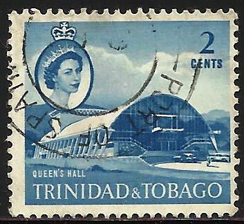 Trinidad and Tobago 1960 Scott# 90 Used