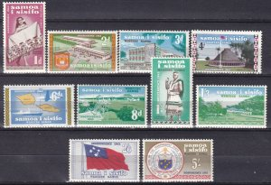 Samoa #223-32 MNH CV $10.05  (Z6939)