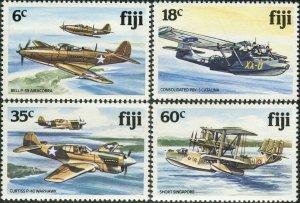 Fiji 1981 SG624-627 Aircraft set MNH