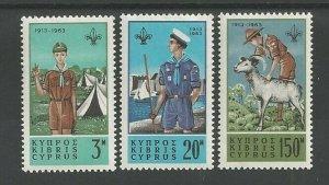1963 Boy Scout Cyprus Sea Scout