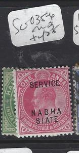 INDIA  NABHA  (P2410B)   KE  SERVICE   1/2A-1A   SG O35-6   MOG