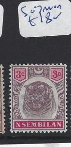 MALAYA  NEGRI SEMBILAN   (PP2507B)  3C TIGER SG 7   MOG