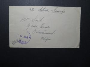 India 1944 Forces Cover / APO 198 (CALCUTTA) / Censored - Z12403