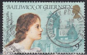 Guernsey 274 Hinged 1984 Dame of Sark La Seigneurie CDS