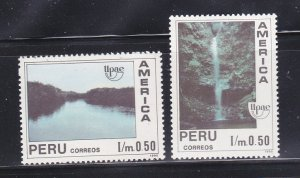 Peru 1013-1014 Set MH Americana Issue