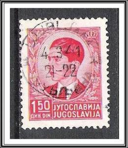 Yugoslavia #145 King Peter II Used