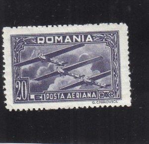 Romania: Sc #C-21, MH (34807)