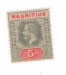 Mauritius #152 MH - Stamp CAT VALUE $3.00
