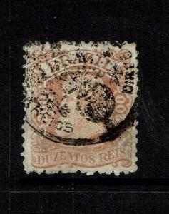 Brazil SC# 81, Used, Hinge Remnant - S78