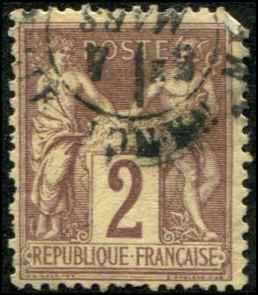 France SC# 88 Peace & Commerce USED