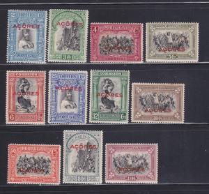 Angola 284-288, 291-295, 297 MHR Overprints