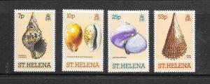 SHELLS - ST HELENA #356-9  MNH