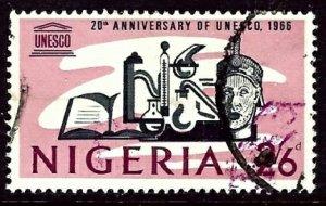 Nigeria 206 Used 1966 issue    (ap3259)