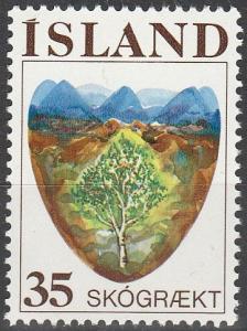 Iceland #488 MNH F-VF (SU6407)