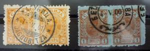 SERBIA - EARLY USED STAMPS! serbien yugoslavia J4