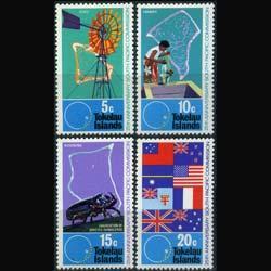 TOKELAU 1972 - Scott# 33-6 SPC Commission. Set of 4 NH