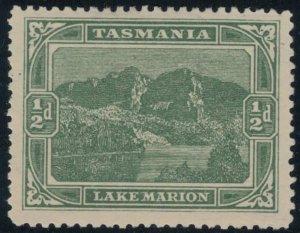 Tasmania #102* CV $4.25