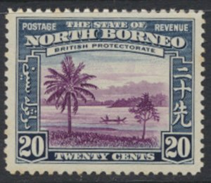 North Borneo  SG 312 SC# 202 MLH    - See scans and details