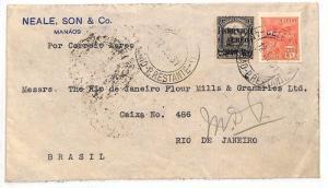 Brazil Rio De Janeiro Cover {samwells-covers} 1931 AE112