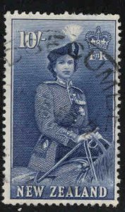 New Zealand Scott 301 Used QE2 on Horse stamp CV$19