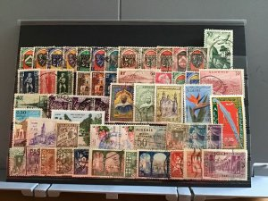 Algeria mega stamps value card R25120