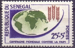 Senegal. 1963. 257. Freedom from hunger. MLH.