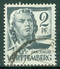 Germany - French Occupation - Wurttemberg - Scott 8N1