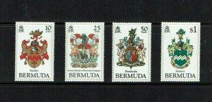 Bermuda:1984, Bermuda Coats of Arms, (1st series)  MNH set
