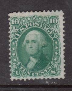 USA #68 Mint Fine No Gum