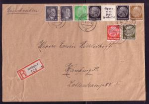 Germany Sc. # 506 X2 / 513 / 519/ + Mi. ID III On Piece