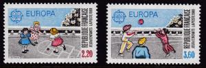 France1989 Europa (2) Childrens Games   VF/NH