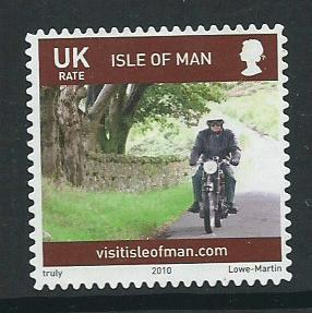 Isle of Man  VFU SG 1564  inscribed UK
