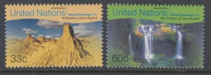 UN New York 754-755 MNH VF