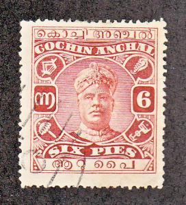 India Cochin Scott #25 Used