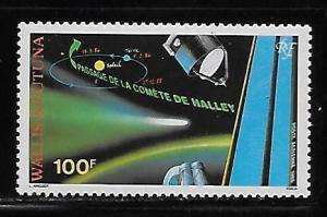 Wallis and Futuna Islands C146 Halley's Comet single MNH